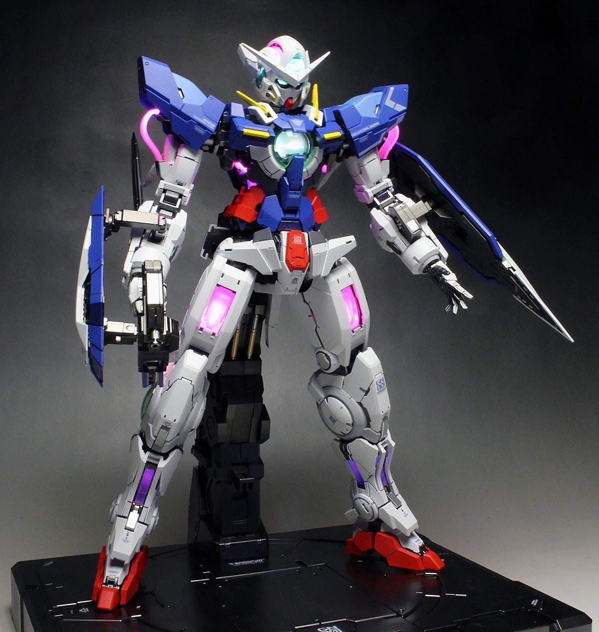 METAL BUILD 1/100 Gundam Exia Repair I & II Preview ...  |Gundam Exia