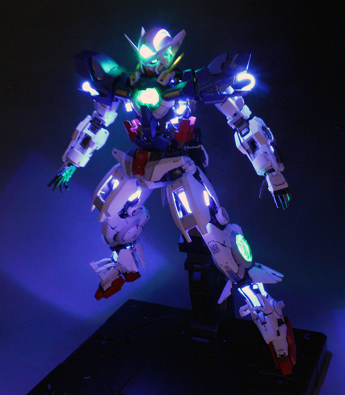 Work Review Pg 1 60 Gundam Exia Lighting Model Painted