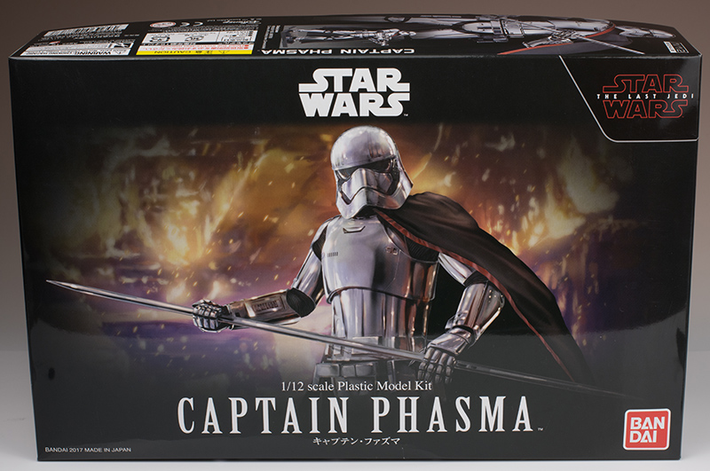 FULL REVIEW Bandai x Star Wars THE LAST JEDI: 1/12 CAPTAIN PHASMA.