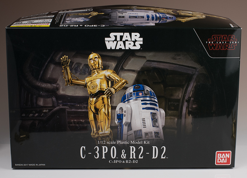 FULL REVIEW Bandai x Star Wars THE LAST JEDI: 1/12 C-3PO and R2-D2