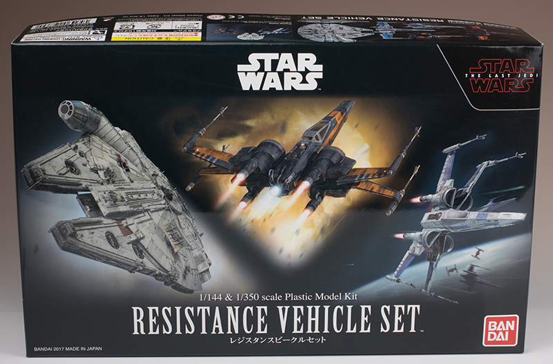 FULL REVIEW: Bandai x Star Wars THE LAST JEDI 1/144 and 1/350 RESISTANCE VEHICLE SET