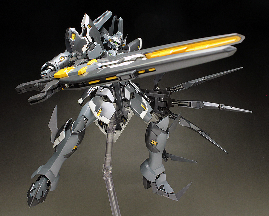 WORK REVIEW: [Super Robot Wars OG The Moon Dwellers] Kotobukiya's non scale RAFTCLANS AURUN painted build images