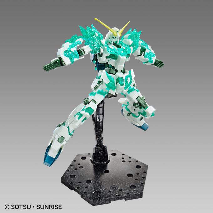 HGUC 1/144 GUNDAM BASE LIMITED UNICORN GUNDAM [Crystal of Light] on Sale @ THE GUNDAM BASE TOKYO: Official Images, Info