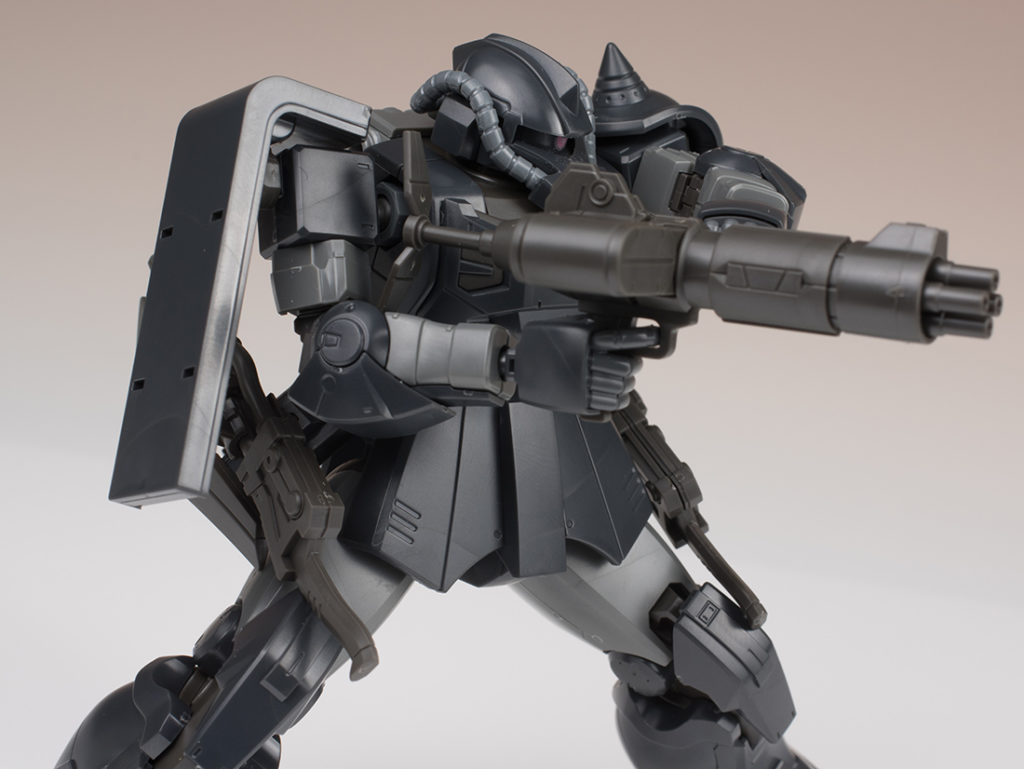 FULL REVIEW: HG 1/144 YMS-11 ACT ZAKU [KYCILIA'S FORCES] Gundam THE ORIGIN MSD Series