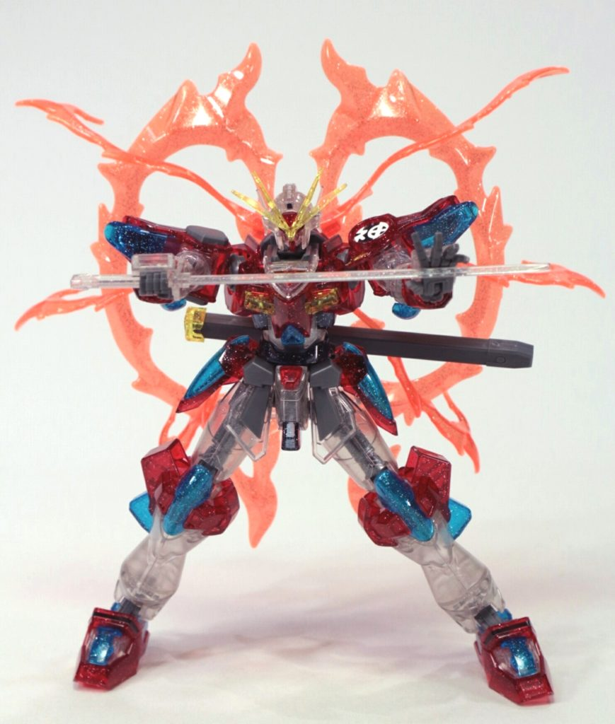 FULL REVIEW: LIMITED HGBF 1/144 KAMIKI BURNING GUNDAM [PLAVSKY PARTICLE CLEAR] many images