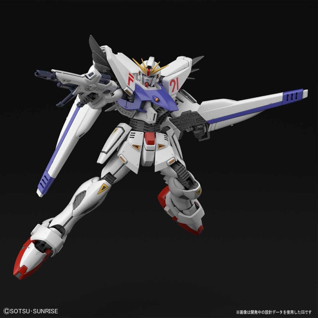 MG 1/100 GUNDAM F91 Ver.2.0: Just Added No.12 Big Size Official Images, Info Release