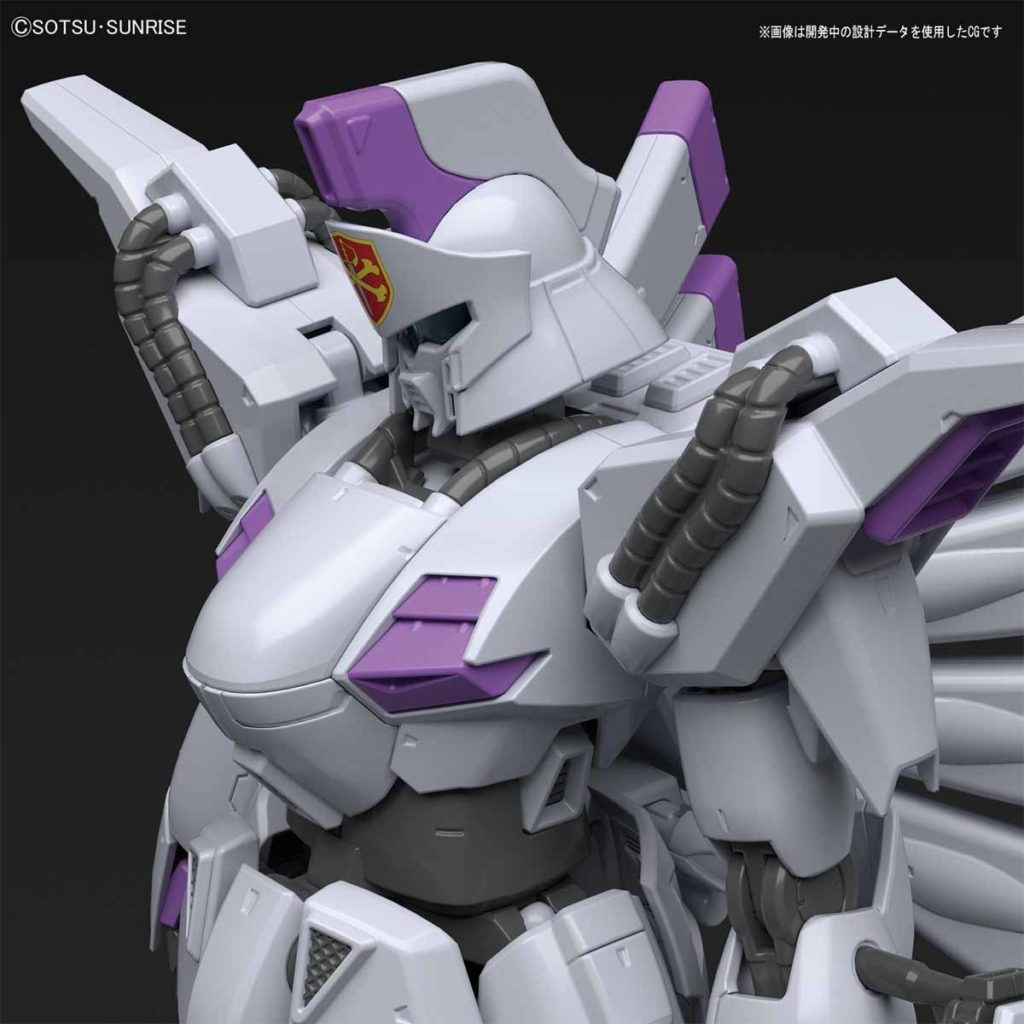 RE/100 XM-07 VIGNA GHINA: Just Added No.9 Big Size Official Images, Info Release