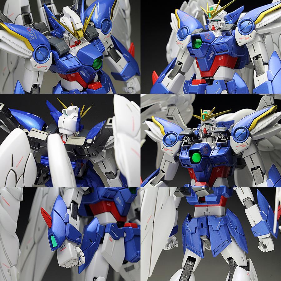 Cool Wing Gundam Zero Ew Rg Review Images