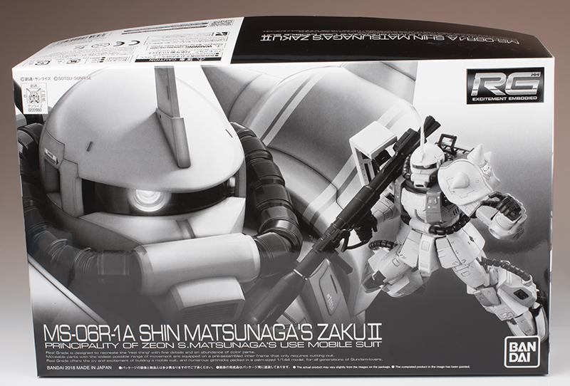 FULL REVIEW: P-Bandai RG 1/144 SHIN MATSUNAGA'S ZAKU II images
