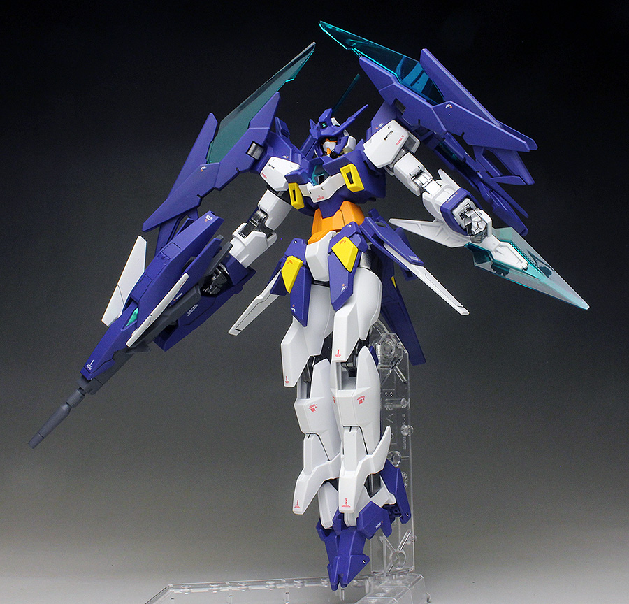 Work Review Hgbd 1 144 Gundam Age Ii Magnum Painted Build