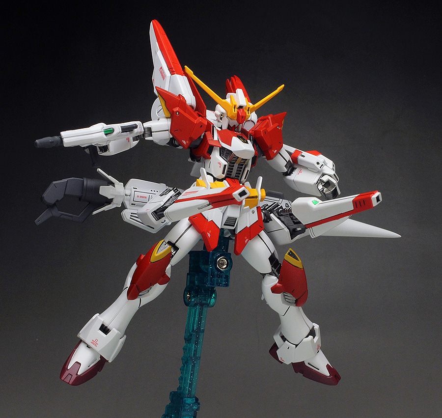 WORK REVIEW: P-Bandai HGBF 1/144 JULIAN MACKENZIE'S GUNDAM M91 painted build images