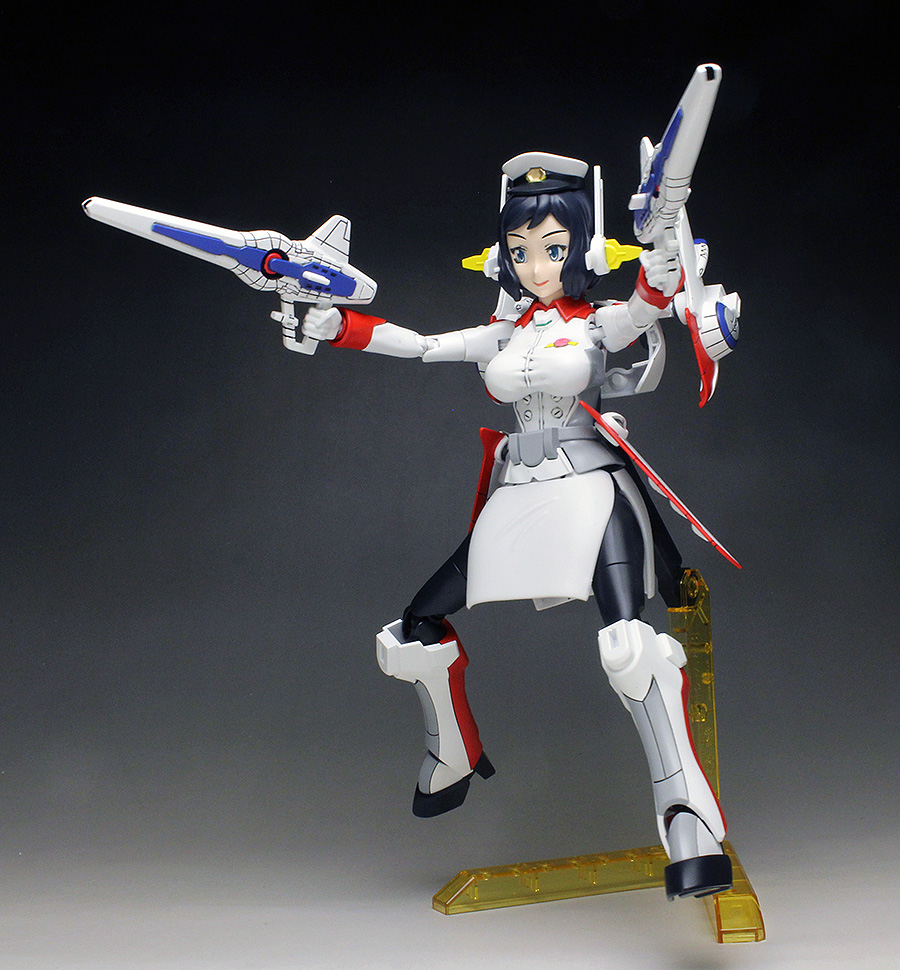 WORK REVIEW: HGBF 1/144 Mrs. LOHENG-RINKO painted build, many images