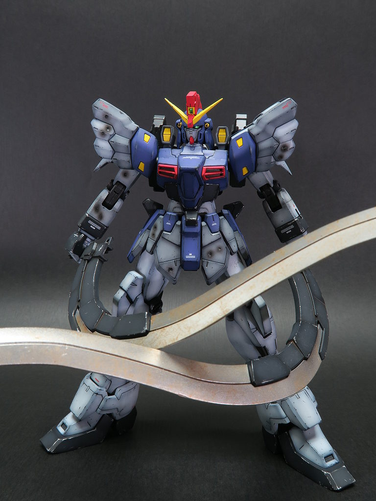 Banie's AMAZING MG 1/100 GUNDAM SANDROCK CUSTOM EW: full photoreview No.22 big size images