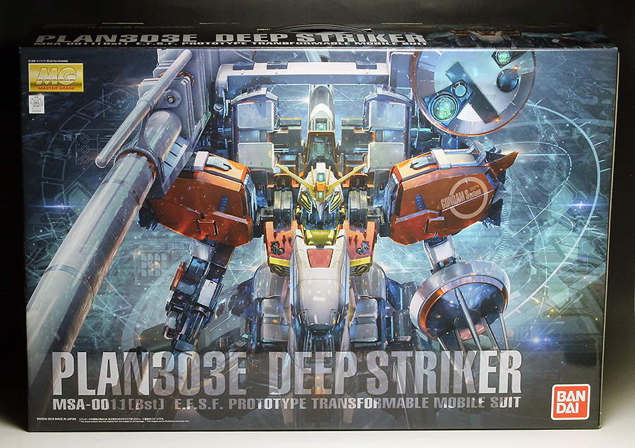 WORK REVIEW: MG 1/100 PLAN303E DEEP STRIKER painted build, many images