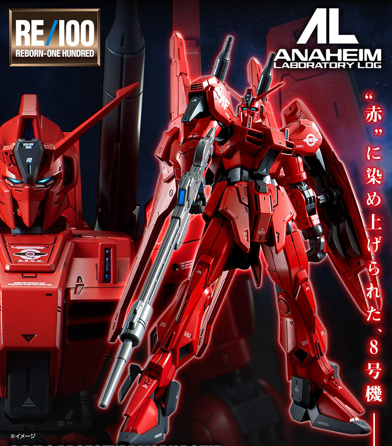 P-Bandai RE/100 GUNDAM Mk-III UNIT 8: FULL Official Images, Promo Posters, Info Release