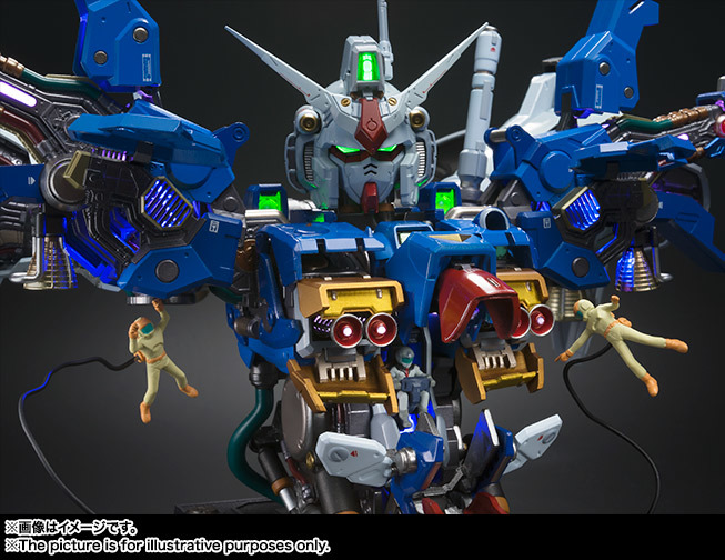 FORMANIA EX GUNDAM FULL BURNERN: Just Added No.11 Official Images, Info Release