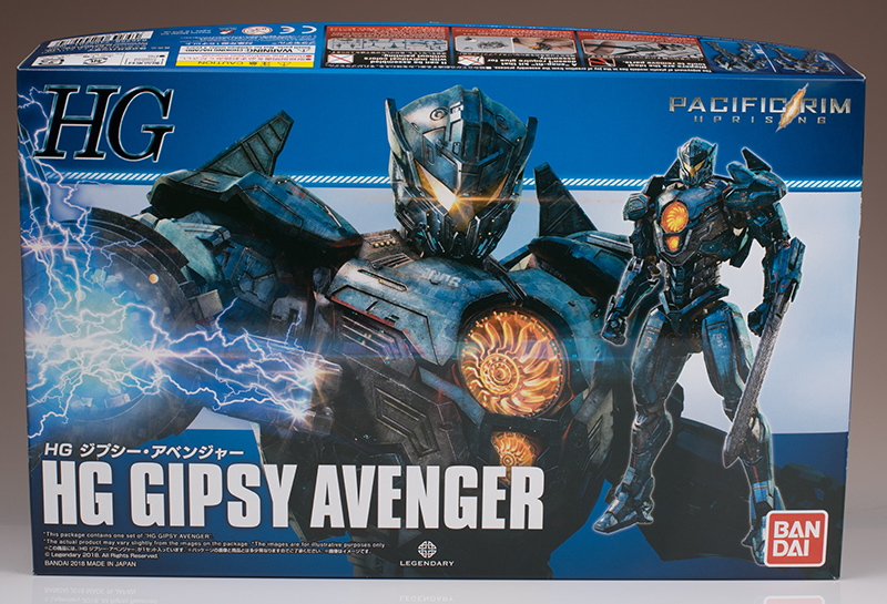 [PACIFIC RIM UPRISING] Bandai HG GIPSY AVENGER photo review, many images