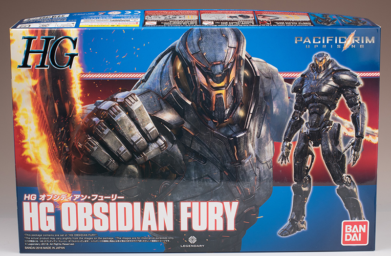 [PACIFIC RIM UPRISING] Bandai HG OBSIDIAN FURY 2nd photo review (Better than the first one), many images