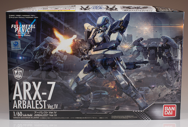 FULL REVIEW Bandai 1/60 ARX-7 ARBALEST Ver.IV many images