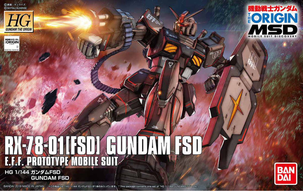 FULL REVIEW HG GTO 1/144 RX-78-01[FSD] GUNDAM FSD many images