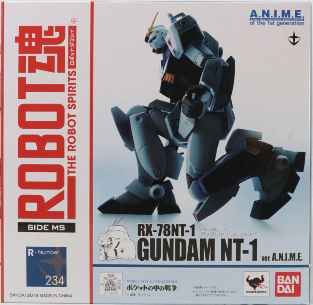 REVIEW: ROBOT魂 GUNDAM NT-1 ver.A.N.I.M.E.
