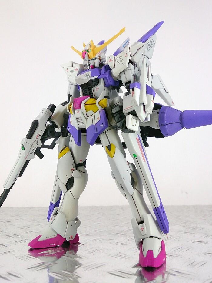 yuithiro's Custom: HGBF 1/144 GUNDAM M91 Kai, images