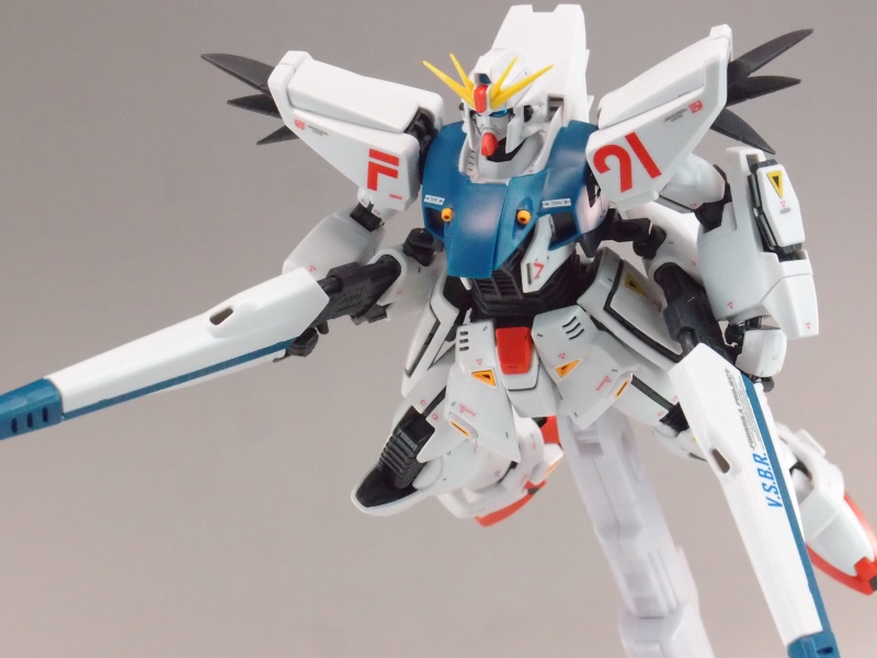 KenBill's Review MG 1/100 GUNDAM F91 Ver.2.0 images