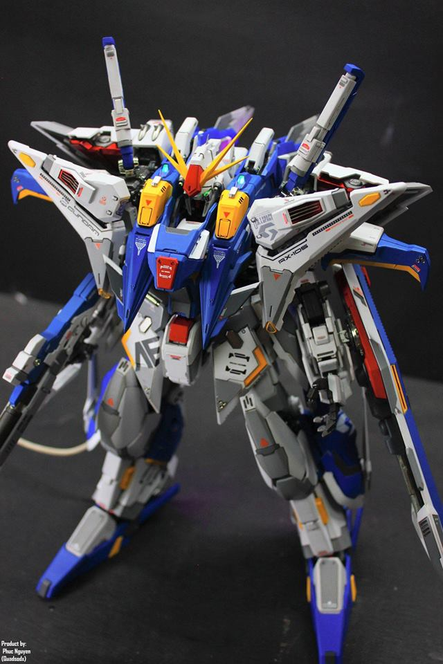 Phuc Nguyen (Quadsodx)'s Mechanicore 1/100 RX-105 Xi Gundam images (wip too)