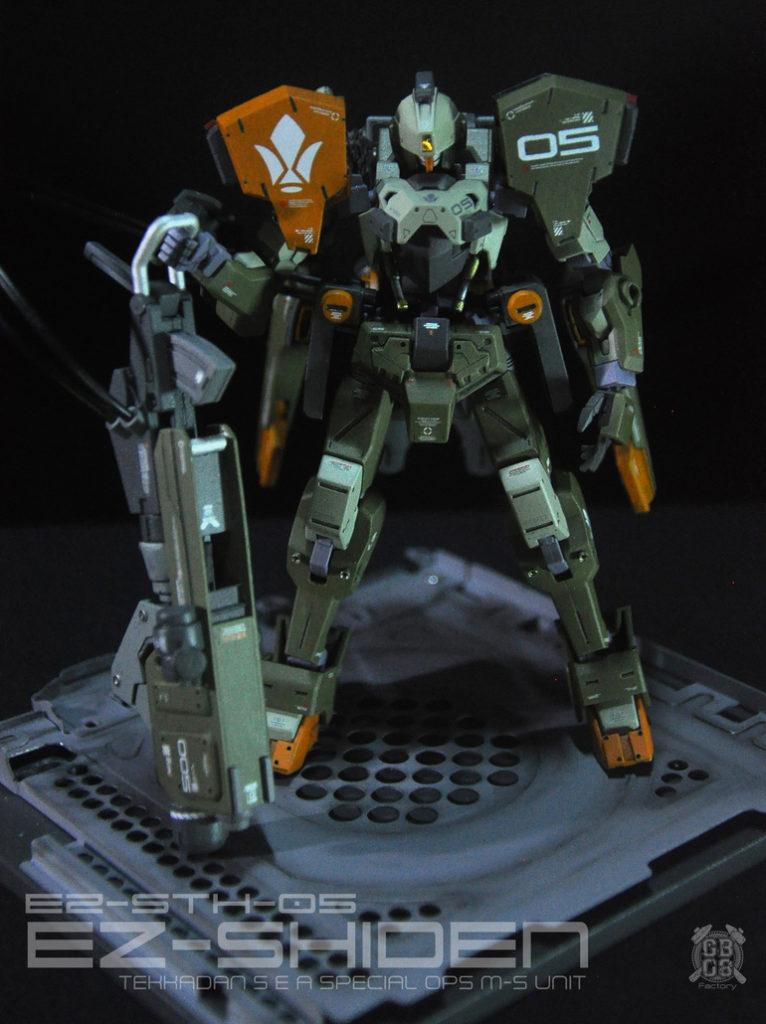 GBx08s's Custom: HG 1/144 EZ-SHIDEN SPECIAL OPS Kai, images