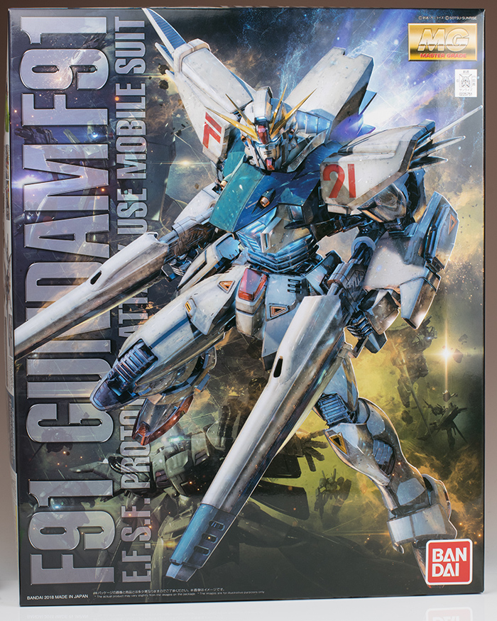 REVIEW MG 1/100 GUNDAM F91 Ver.2.0 (comparison with first version too) No.96 images