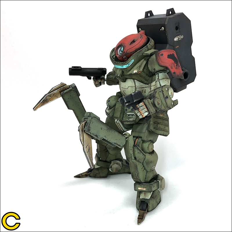 Cryth's HGBD 1/144 GRIMOIRE RED BERET Heavy Weathered, images