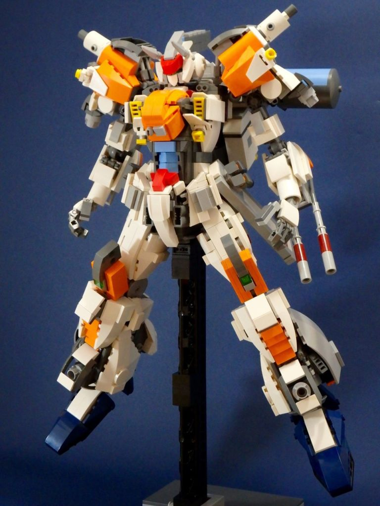 JAN's GUNDAM GAIA built with LEGO: Full Review, Info