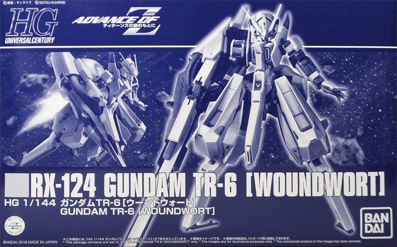 P-Bandai HGUC AOZ 1/144 RX-124 GUNDAM TR-6 WOUNDWORT Review w/No.66 images