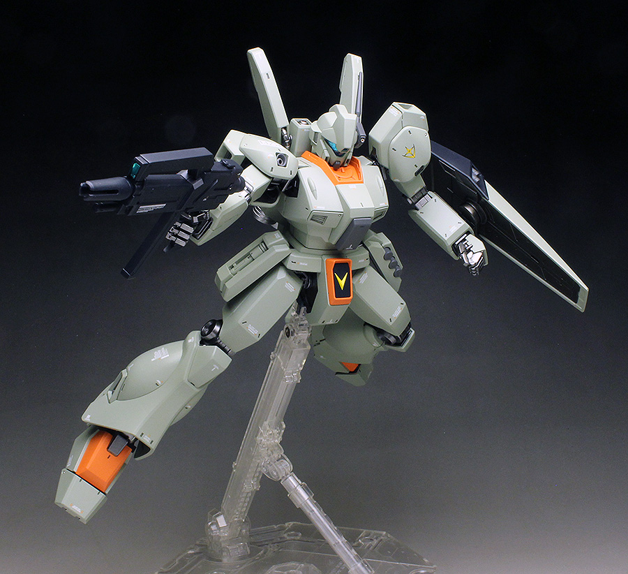 Tai's MG 1/100 JEGAN painted build images