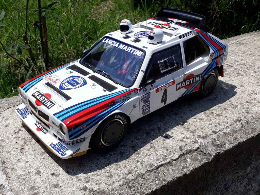 """ANDREA FERRARI's Improved MFH 1/12 Fulldetail Kit LANCIA DELTA S4 """"Tour de Corse 86"""" REVIEW (WIP too) No.38 Images"""