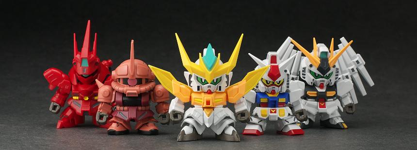 REVIEW Mini-Pla Gundam Build Divers Super Shock Gundam [No.69 Images]