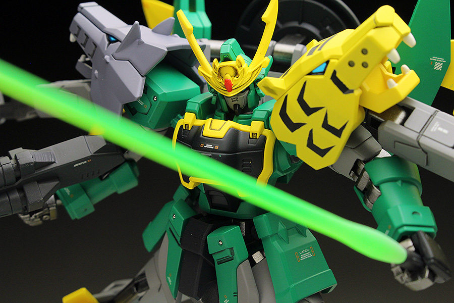 [WORK] HGBD 1/144 TIGERWOLF'S GUNDAM JIYAN ALTRON Painted Build Images Review, Info Credits