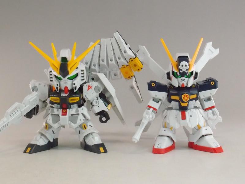 Review Sdcs Crossbone Gundam X1 Sd Gundam Cross