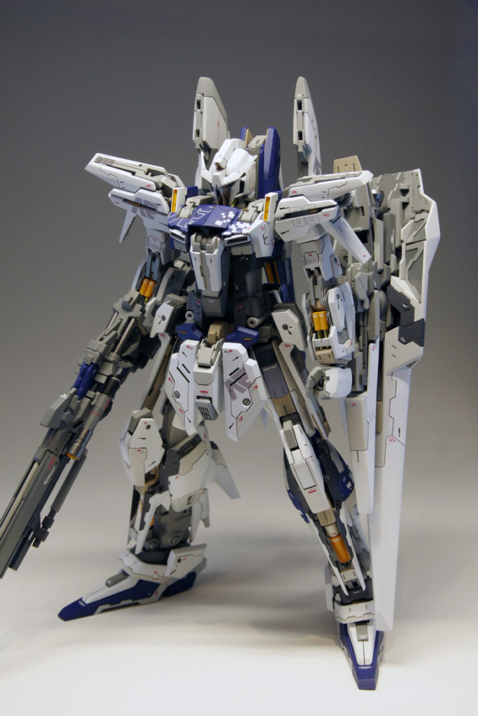 BIANCO33900879's AMAZING Custom 1/100 MSN-00X-1 DELTA TYPE ZERO: No.15 Images (WIP too)