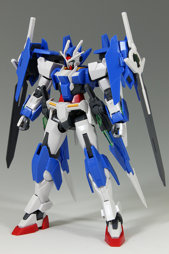 REVIEW HGBD 1/144 GUNDAM 00 DIVER ACE