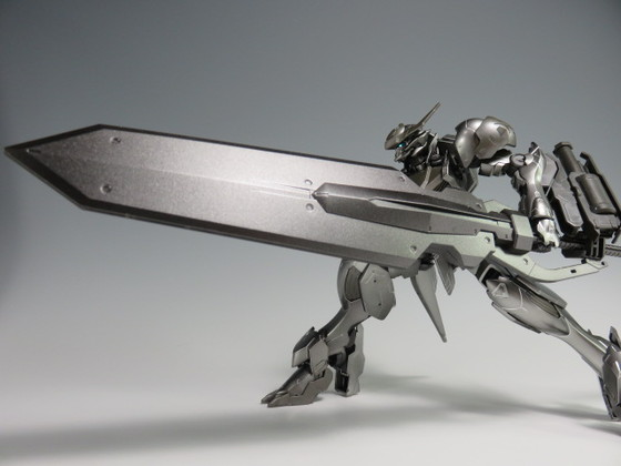 REVIEW Limited HGIBO 1/144 GUNDAM BARBATOS LUPUS [ IRON BLOOD COATING]
