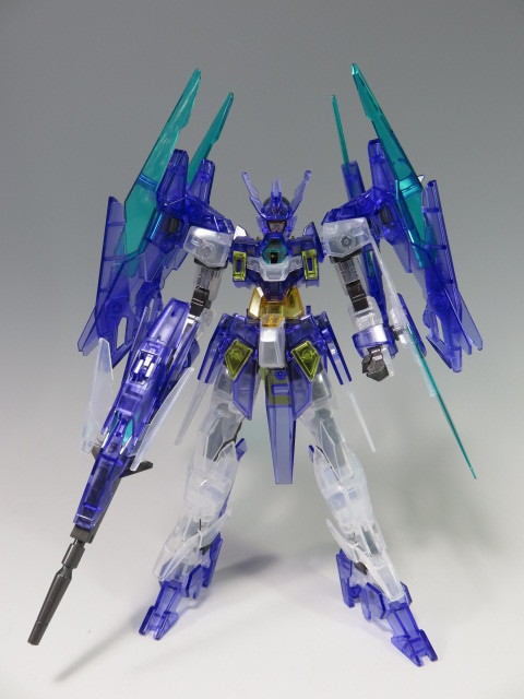 REVIEW HGBD 1/144 GUNDAM AGE II MAGNUM [CLEAR COLOR] included in New GUNDAM BREAKER Premium Edition