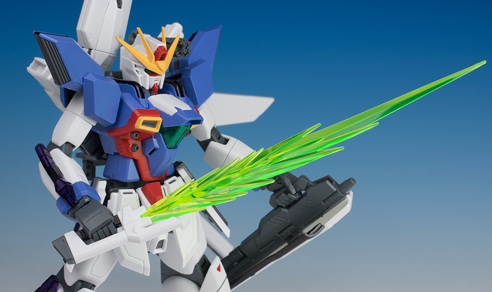 REVIEW P-Bandai MG 1/100 GX-9900 GUNDAM X UNIT 3 [No.70 Images]