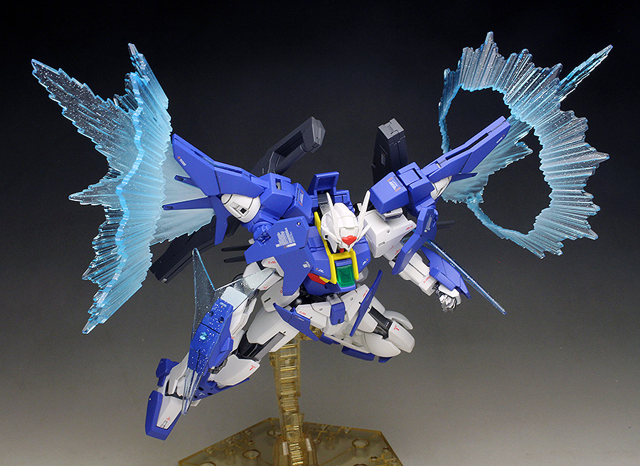 [WORK] HGBD 1/144 GUNDAM 00 SKY HIGHER THAN SKY PHASE painted build images, info credit