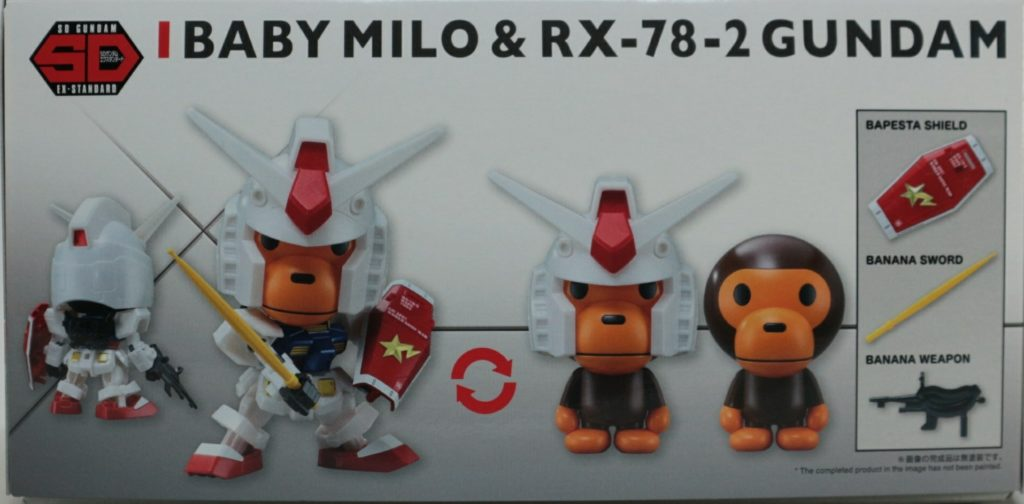 BABY MILO and RX-78-2 GUNDAM [SD EX-STANDARD] FULL REVIEW