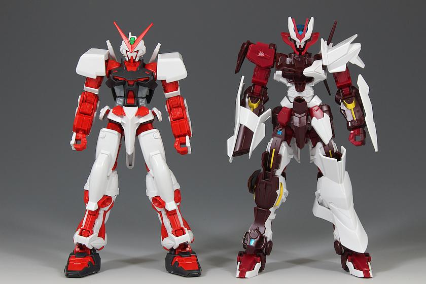 Perbandingan Astray No Name dengan Red Astray, Gundam No-Name review, Gundam Astray