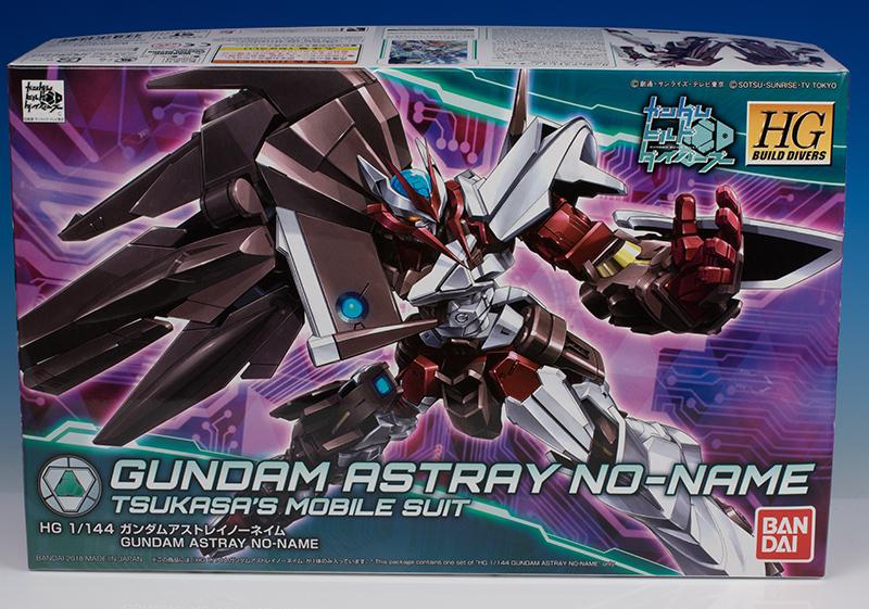 Gundam Astray no Name review, Gundam HG, Gundam build divers