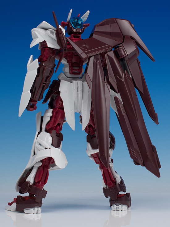 Gundam Astray No-Name tampak belakang