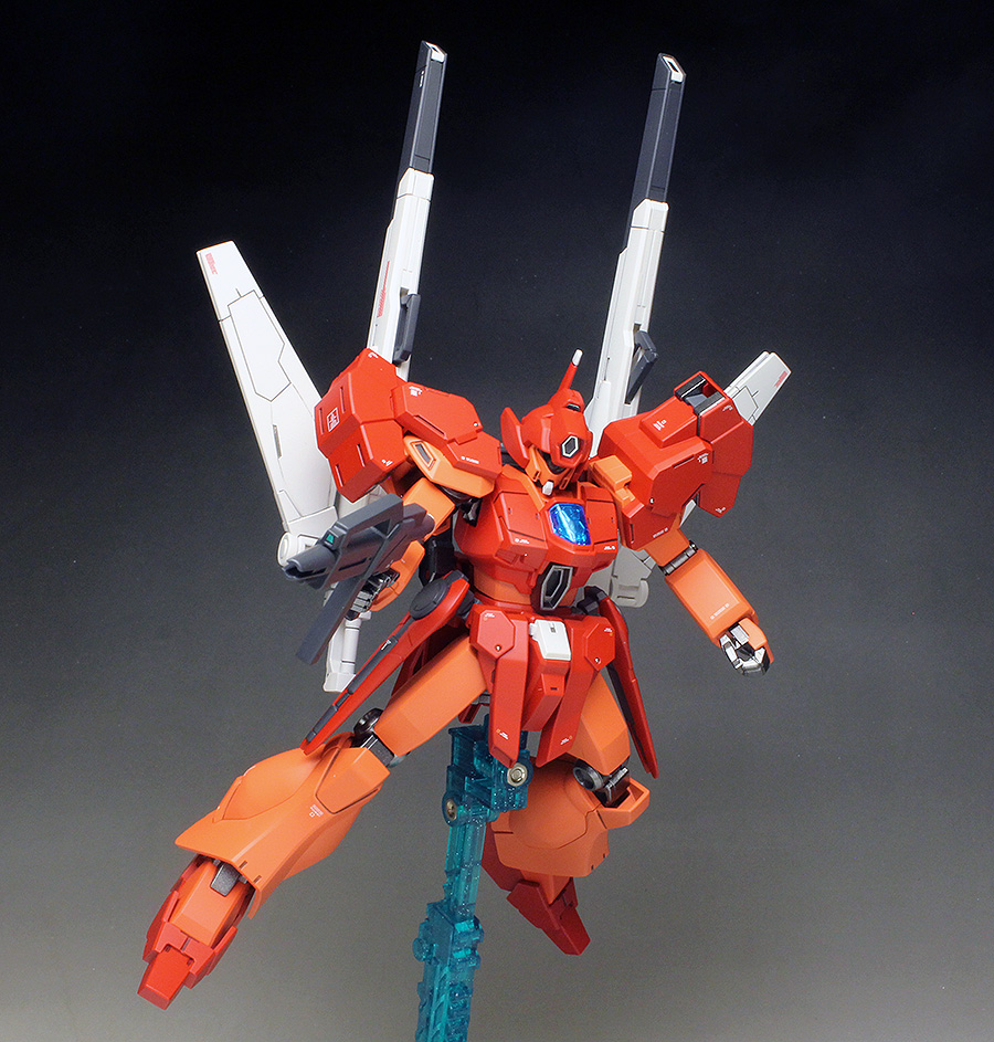 [WORK] HGBD 1/144 JEGAN BLAST MASTER Painted Build images / REVIEW