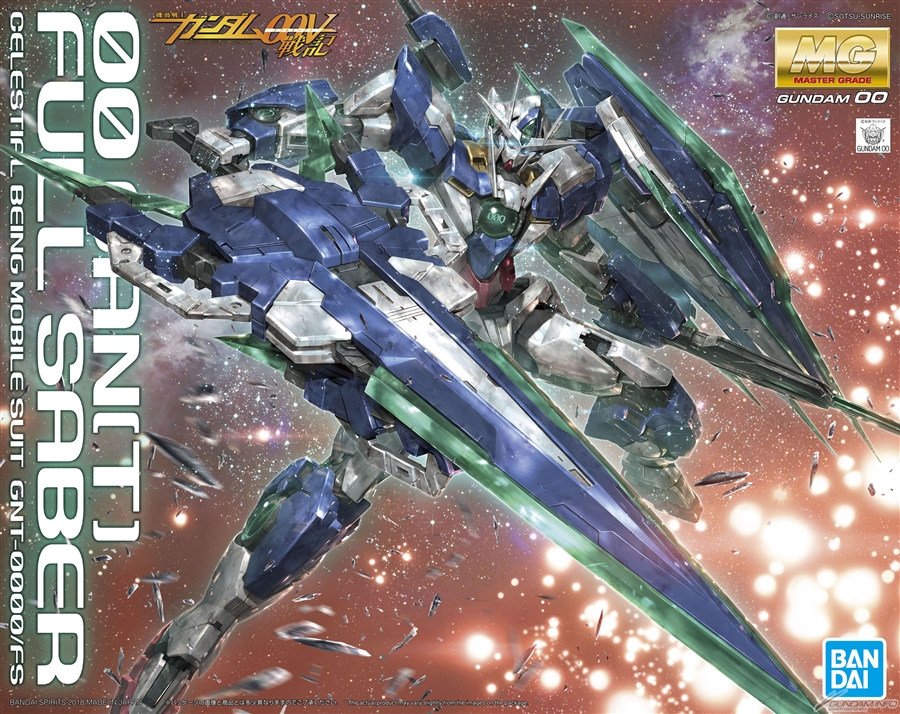 MG 1/100 00 QAN[T] FULL SABER: Just Added Many New Official Images, Info Release